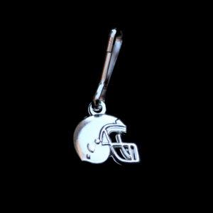 Football Zipper Pull